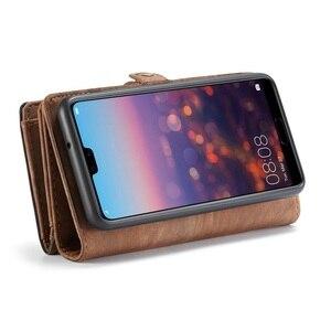 Image 2 - Luxury Leather Flip Case For Hawei mate20 p30 p20 pro lite Nova 4e 3e Funda Etui Wallet Phone Cover accessories shell Coque bags