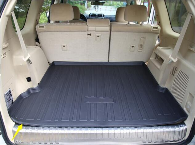 Rear Trunk Liner Cargo Boot Mat Floor Tray For Toyota Landcruiser Prado 150 J150 2010 2011 2012 2013 2014 2015 2016 2017 2018Rear Trunk Liner Cargo Boot Mat Floor Tray For Toyota Landcruiser Prado 150 J150 2010 2011 2012 2013 2014 2015 2016 2017 2018