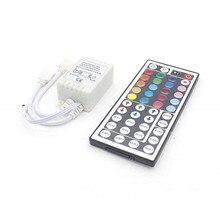 Led Controller 44 Keys 24 Keys LED IR RGB Controler LED Lights Controller IR Remote Dimmer DC12V 6A For RGB 3528 5050 LED Strip