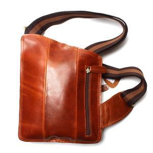 Image 3 - Nieuwe Hoge Kwaliteit Vintage Casual Crazy Horse Leer Echt Koeienhuid Mannen Borst Zak Kleine Messenger Bags Voor Man