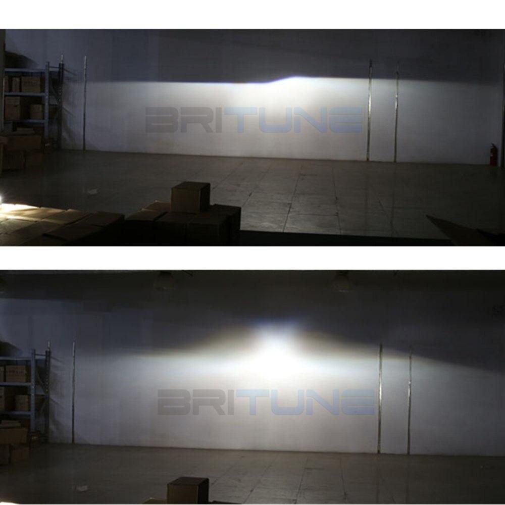 2.5 pouces mise à niveau Leader complet en métal HID phare bi-xénon projecteur lentille phare complet kit H4 H7 4300K 6000K 8000K voiture phare - 5