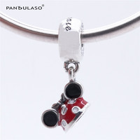 Pandulaso Charms Silver 925 Original Disny Minnie Mouse Charm Beads For Jewelry Making DIY Jewelry Fit
