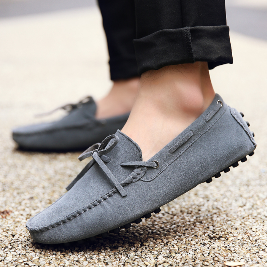 Loafers Driving-Shoes Male Casual Spring Summer Brand-New-Fashion Breathable Men Size-38-49