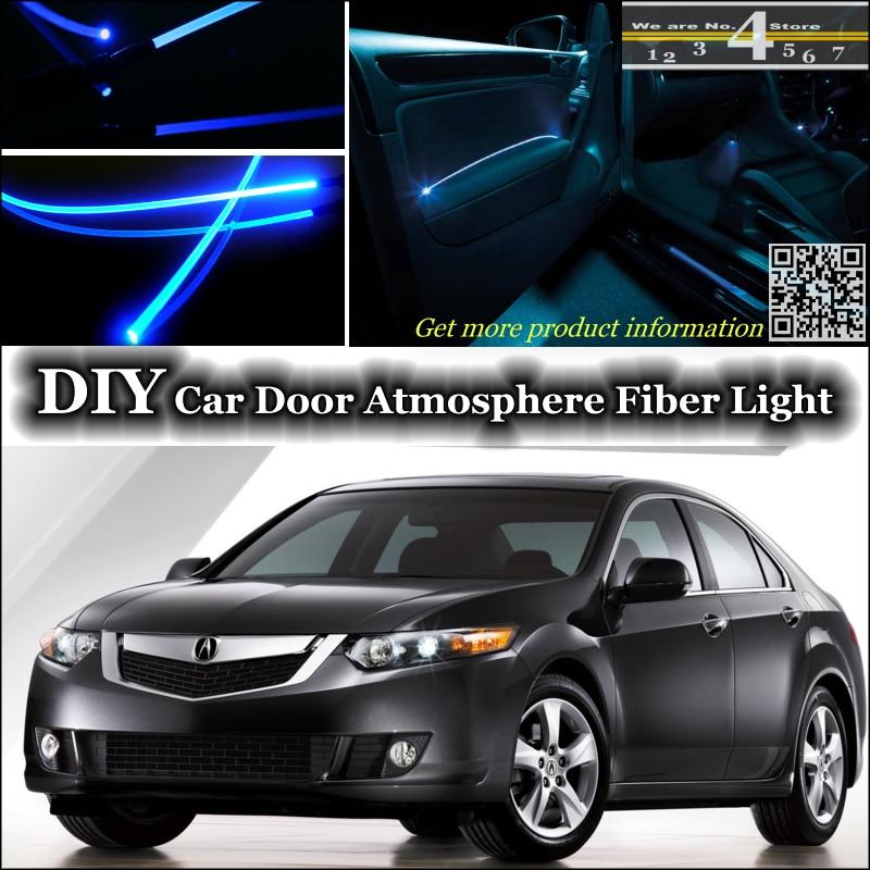 Interior Ambient Light Tuning Atmosphere Fiber Optic Band Lights For Acura Tsx Inside Door Panel Illumination Not El
