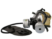 SQY FF08 Military and Police Style Full Face Gas Mask With Double Filter Training Mask