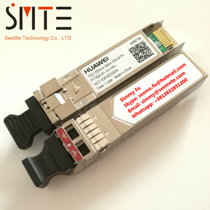 HW PT7620-81-1D-HW+ 10G-1550nm-40km-SM-SFP+ NEO 0816032934 fiber optical transceiverHW PT7620-81-1D-HW+ 10G-1550nm-40km-SM-SFP+ NEO 0816032934 fiber optical transceiver