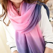 2017 Fashion Winter Scarf Women Brand Bandana Tassels Scarf Foulard Femme Designer Cotton shawls Scarves