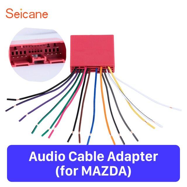 Seicane 50x18mm Simple Installation Sound Wiring Harness
