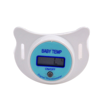 Soft Infant Baby Kid Nipple LCD Digital Mouth Pacifier Thermometer Children Health Safety Care FJ88 1