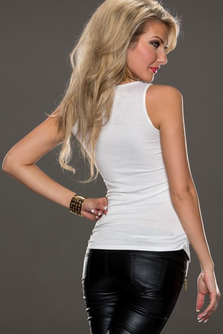 White-Leather-Lace-Surface-Sleeveless-Top-LC25169-1-14131