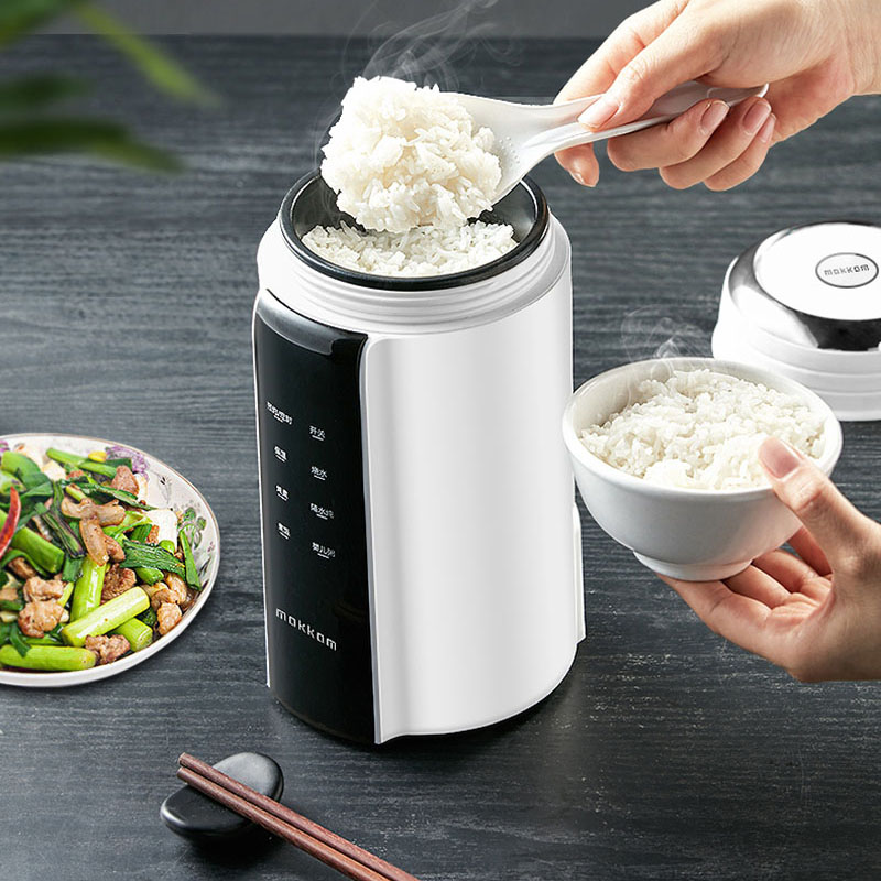 700ML Multifunctional Electric Kettle Heating Cooking Pot Home Travel Folding Kettle Hot Water Cup Stew Non-stick Liner 220V