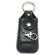 الأصلي سامسونج حقيبة جلد مع مشبك قفل الفولاذ المقاوم للصدأ غطاء وقائي حامي العالمي الغبار حالة ل Cle USB
