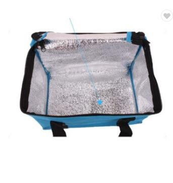 Custom Recycled Outdoor Lunch Picnic Food Non Woven Ice Lunch Bag Cooler