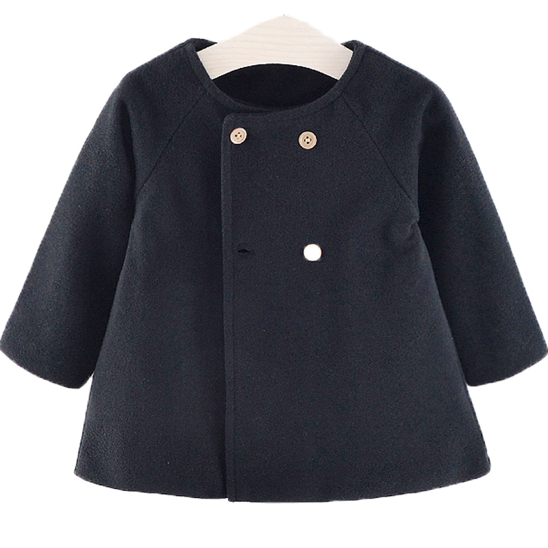 Baby Girl Boys Spring Winter Wool Blends Jacket Coat Clothes Infant Toddler Christmas New Years Costume Blend Clothing Outerwear 3