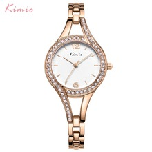 KIMIO Simple Ladies Bracelet Watches For Women Fashion Dress Watch 2019 Top Brand Luxury Female Wristwatch Relogio Feminino Gift