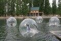 2017 горячий продавать Надувные 2 М гигантские водные гуляя, ясно танцуют воздушный шар, надутый балета шары, вне спорт Зорбинг игры