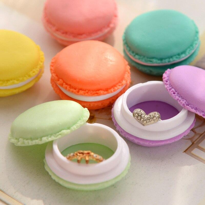 500pcs/lot Mini Earphone SD Card Macarons Bag Storage Box Case Carrying Pouch small pills jewelry box organizing