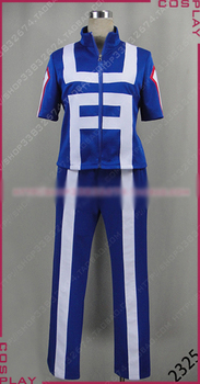 Traje de Cosplay boku no Academia Katsuki Bakugou uniforme de Halloween interior + camisa + Pantalones a medida