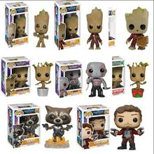 цена на 2019 Funko POP Anime Guardians of the Galaxy 2 Action Figure Movie Collectible Model Toys Christmas Gifts