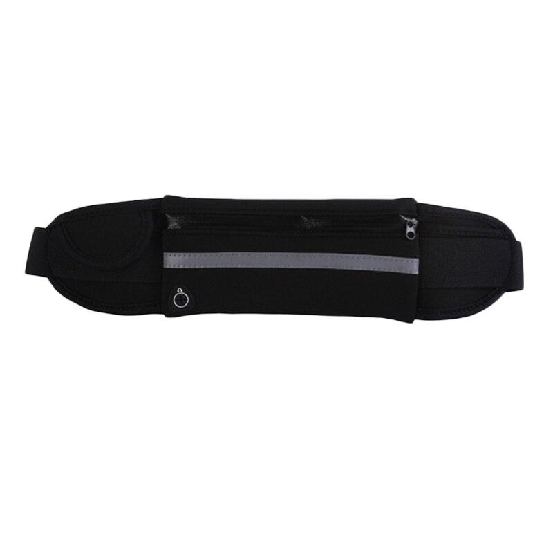 HTB1TNlNdjfguuRjSspaq6yXVXXaW 2019 New Men Women Gym Fitness Pocket Waterproof Sports Waist Bag Pack Belly Belt Bag Outdoor Running Waist Bags Simple Solid