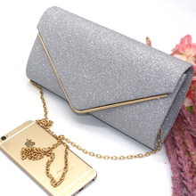 Sparkling Clutch with Rhinestones