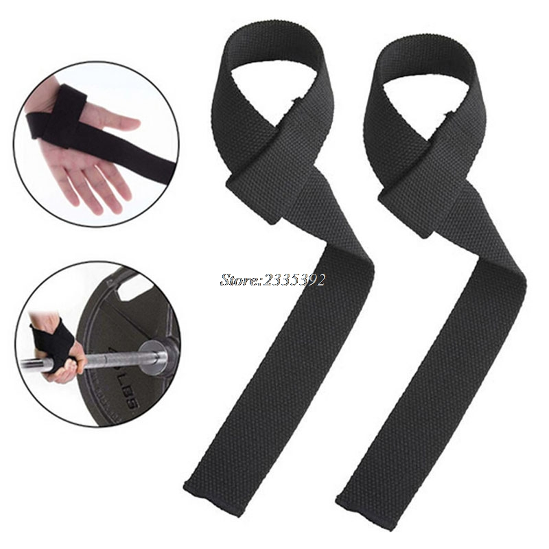 1 Pair Weight Lifting Hand Bar Grips Straps Wrist Support: ︻Weight Lifting Hand Wrist ⓪ Bar Bar Support Strap Brace