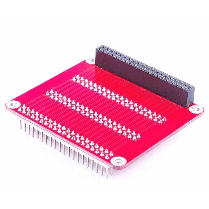 Carte d'extension de multiplexage Triple GPIO modèle B pour plaque Multiplex de Module d'extension Multiplex framboise Pi 2/3