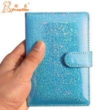 ZS patent leather PU passport bags ID Travel Passport Holder Passport Cover Card Passport Case