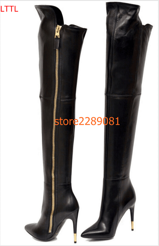 Compare Prices on Gold Zipper Boots- Online Shopping/Buy Low Price ...