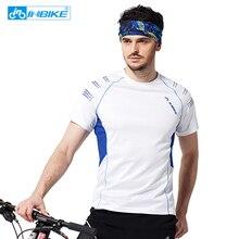 Verão de secagem rápida mangas curtas Ciclismo Jerseys dos homens respirável ao ar livre sports wear bicicleta roupas de bicicleta vestuário