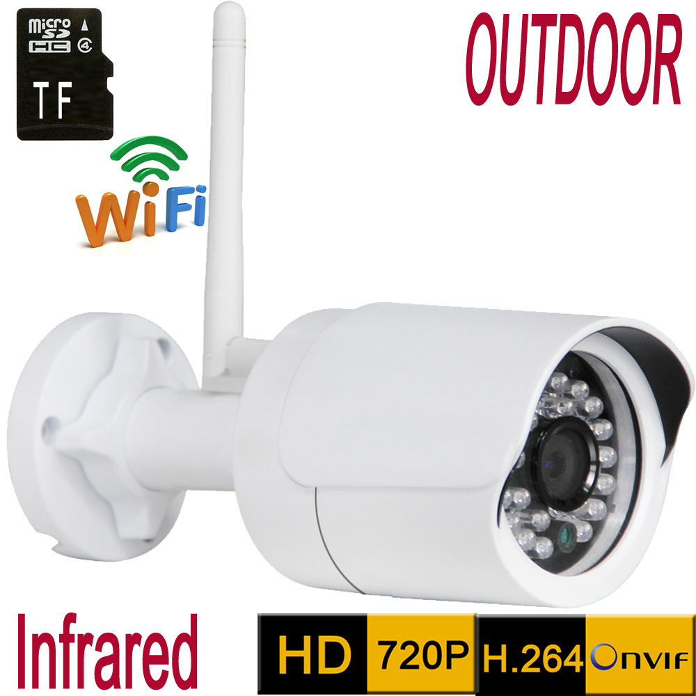 Ip camera Wifi HD 720P Support 64G SD Network Cameras font b Wireless b font Outdoor