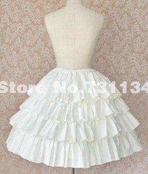 Белые юбки пушистые