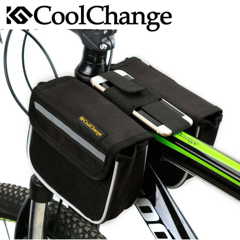 CoolChange Højkvalitets Cykelcykel Framramme Tube Pannier - Cykling - Foto 6