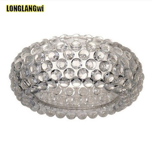 Free Round Modern Crystal Chandelier Bedroom Lamp Beads Ball Continental
