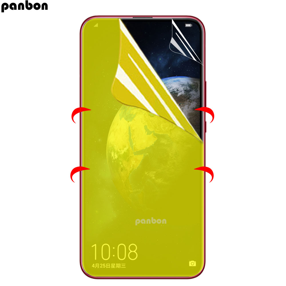 Hydrogel For Huawei Honor View 20 V20 Nova 4 Nova4 TPU Front Full Cover Screen Protector Transparent Protective Film+Clean Tool