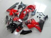 Honda CBR600RR 2005 2006 için Kırmızı Ve Siyah CBR 600 RR Motosiklet ABS Laminer Akış Kitleri