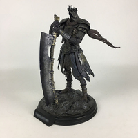 [Funny] Large size 42cm Movie Statue Dark Souls Dark Knight Bust Giant Devil Resin Action Figure Collectible Model Toy crafts