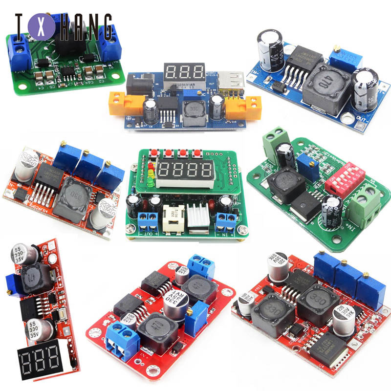 Step Up Boost Power Converter XL6009/Rouge pour Arduino Raspberry Projects DIY Manuels