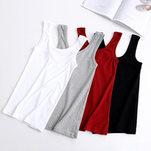 Summer New Style Slim Vest, Solid Color Joker Thin Stretch Bottoming Shirt Casual Vest