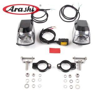 Arashi Best LED Driving Headlight Motorcycle LED Fog Light For DUCATI For Triump Lamp Spotlight Fog Lights With Plastic Switch