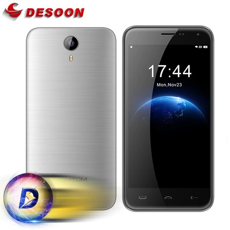 bilder für Original HOMTOM HT3 Pro Handy 5,0 Zoll Hd-bildschirm Smartphone MTK6735P Quad Core Android 5.1 Handy 2 GB RAM + 16 GB ROM