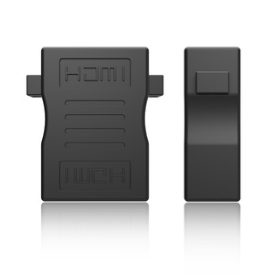 Image 5 - HDMI ל HDMI כבל מתאם ממיר Extender עם אוזן וו מחבר נקבה לנקבה 1080P עבור HDTV HDCP DVD מקרן נייד