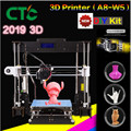2019 Upgraded Full  resume power failure A8 W5 3D printer MK8 high precision extruders improved for beginners  for student|3D Printers| |  -