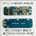 3 S PCB bateria 12.6 V BMS de iões de lítio para 18650 bateria-e bateria de lítio-polímero