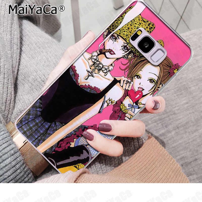MaiYaCa نانا أوساكي الهاتف غطاء مضحك إلكتروني حالات لسامسونج S9 S9 زائد S5 S6 S6edge S6plus S7 S7edge S8 s8plus