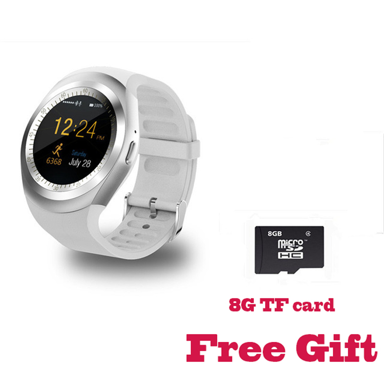 696 Y1 Round Bluetooth 3.0 Smart Watch Support Nano for IOS Android
