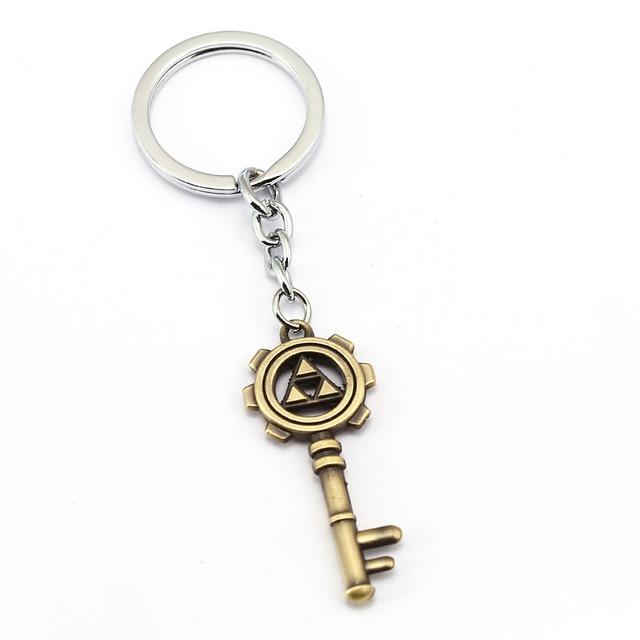 The Legend of Zelda Keychain Car Key Chain Game New Key Ring Holder Pendant Fashion Chaveiro Jewelry Souvenir