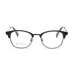 Image 4 - Browlineフルリム光学眼鏡フレーム用男性と女性黒とヒョウ眼鏡