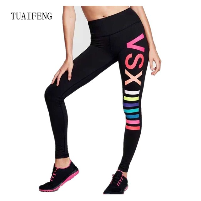 Sport Pantalon Gym Vêtements Spandex Collants Running Femmes Sport Leggings  Remise En Forme De Yoga Pantalon b4fae8e91de
