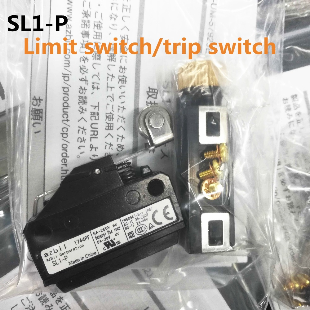 NEW azbil SL1-P SL1P YAMATAKE Limit switch Travel switch Micro switch dhl ems new yamatake azbil photoelectric sensor hpx t4